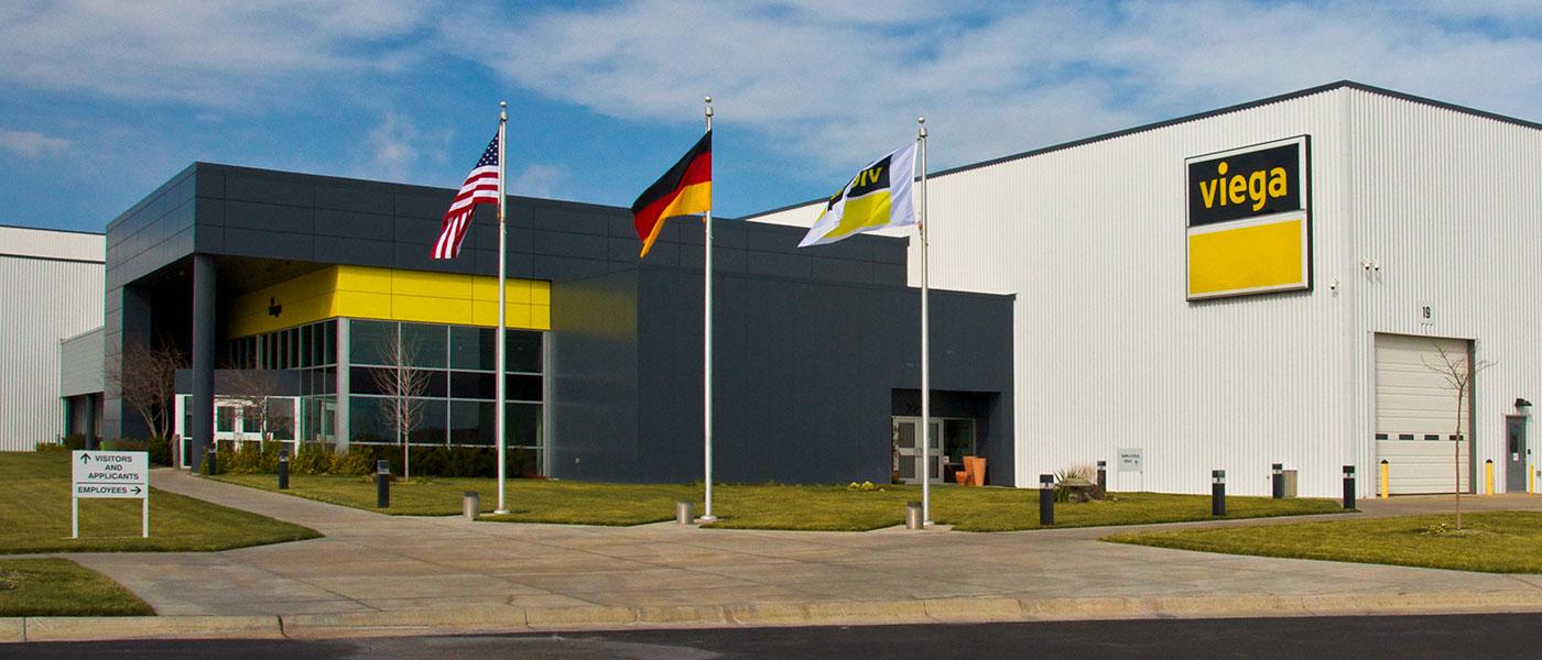 Viega Production and Logistics Center, North America