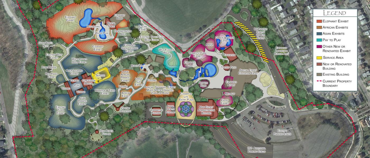 Rosamond Gifford Zoo Master Plan