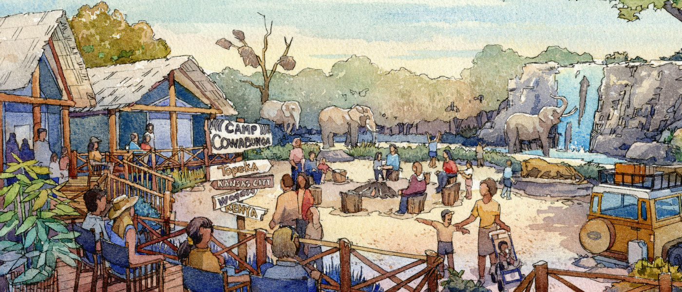 Topeka Zoo Exhibit Design