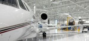 GLMV-Cessna Textron Service Center Repair Bay