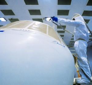 GLMV-Cessna Textron Service Center Paint BoothCessna Textron Service Center Paint Booth