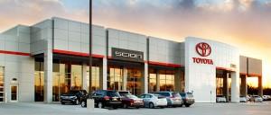 Eddys-Toyota-Car-Lot-Architecture
