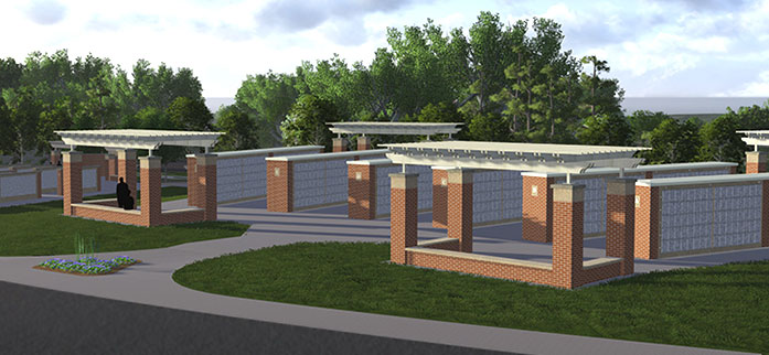 Tallahassee National Cemetery Landscape Glmv
