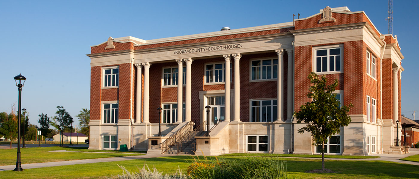 Kiowa County Courthouse – Renovation