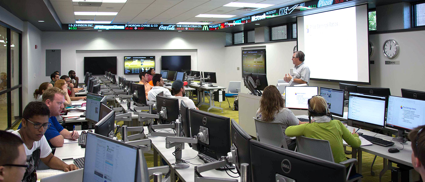 WSU Koch Global Trading Center – Education