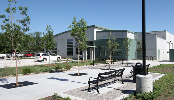 Energy Efficient Transit Van Maintenance Facility in Wichita, Kansas