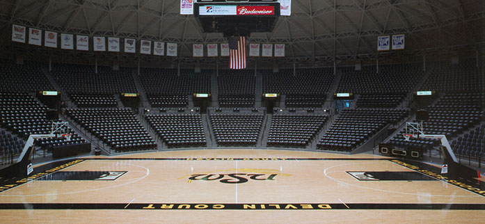 Charles Koch Arena Renovation Glmv