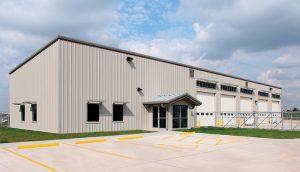 Energy Efficient Kiowa County Maintenance Facility in Greensburg, Kansas