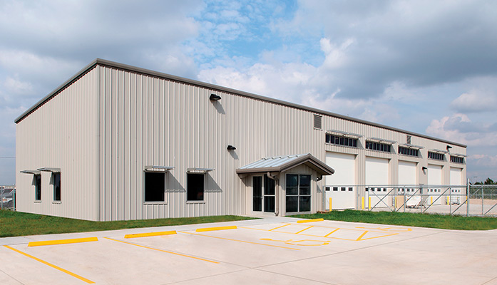Energy Efficient Kiowa County Maintenance Facility in Greensburg, Kansas