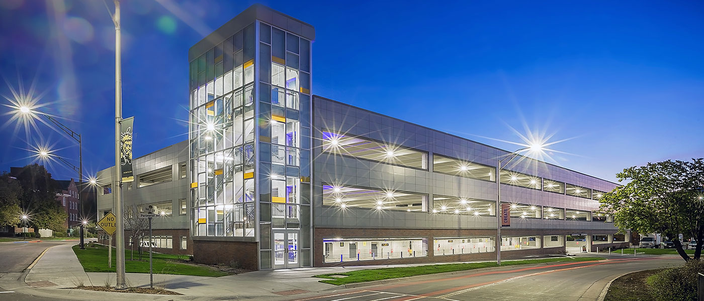 Parking Structure – WSU – Education