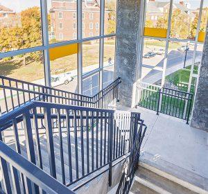 Stairwell-Parking-Garage-Wichita-State-University