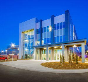 Law Enforecment Training Center, GLMV Architecture