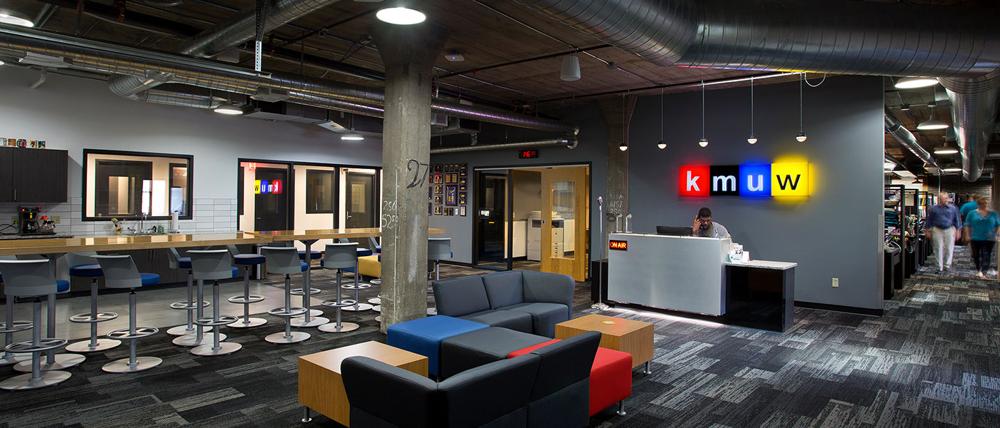 KMUW Radio Station – Interior