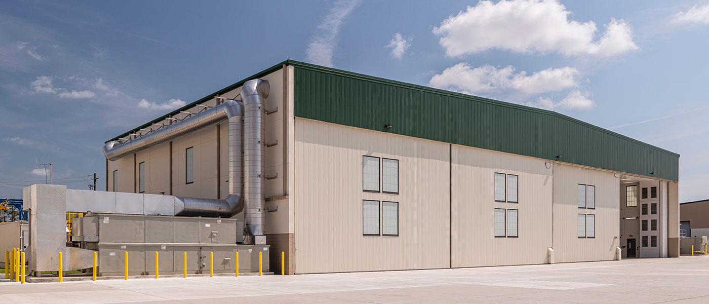 High-Bay Corrosion Control Hangar – Aviation